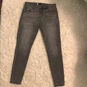 Kut From The Kloth Dark Gray Skinny Jeans